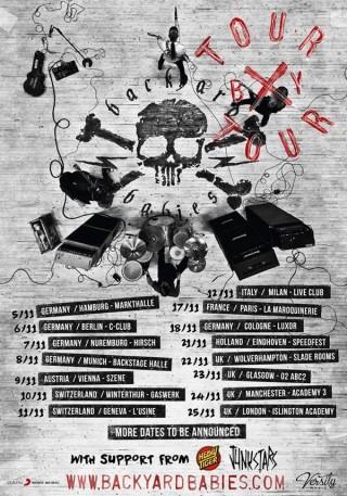 Tour dates november 2015.